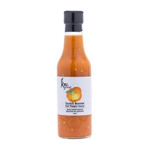 Scotch Bonnet Hot Pepper Sauce (Pumpkin Base)